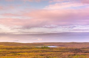 The Scottish highlands by campervan
