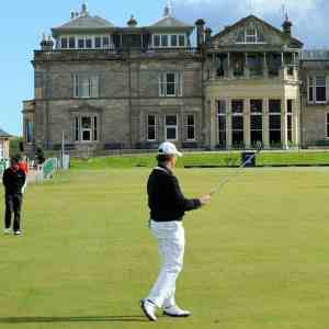 Outdoor activities in Scotland such as Golf