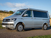 VW campervan hire UK