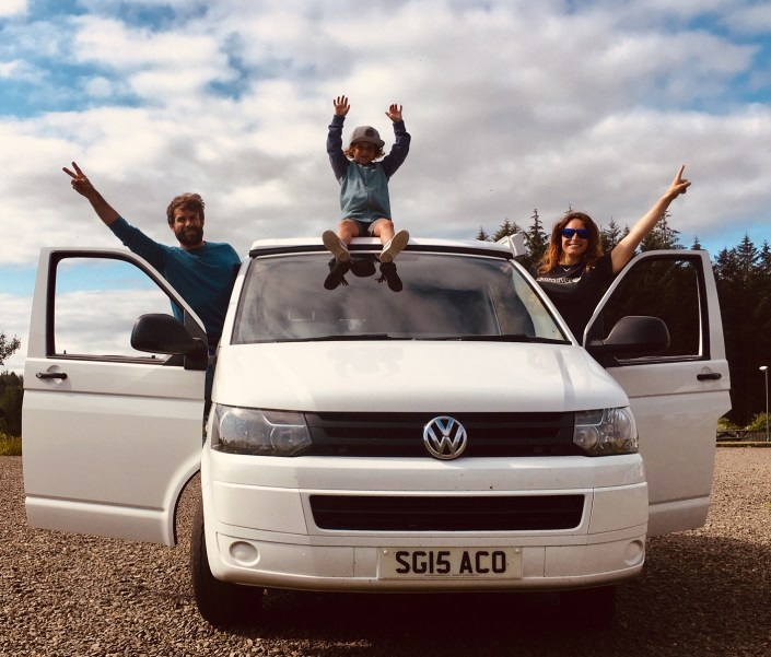Family Holiday with Big Sky Campers