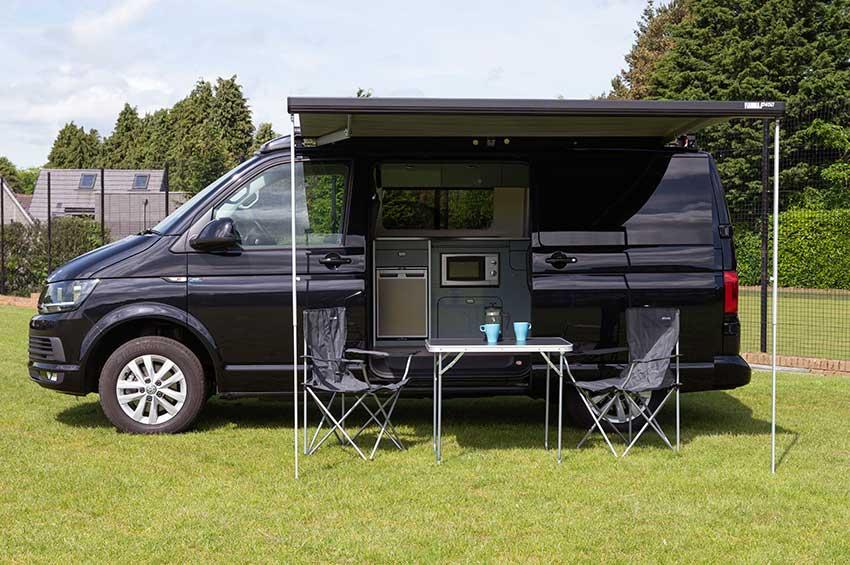 VW Campervan Hire Scotland Dog Friendly Duncan