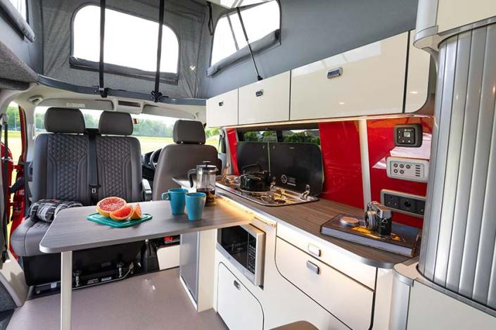 van life campervan hire scotland