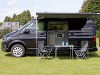 VW Campervan Hire Scotland Dog Friendly Duncan