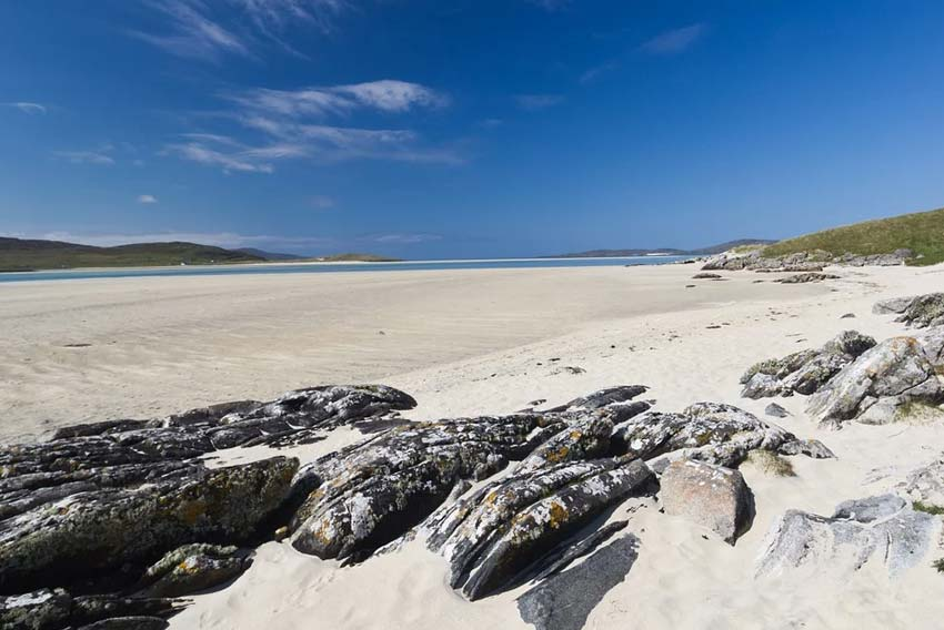 Scottish island hopping holidays beach Lewis