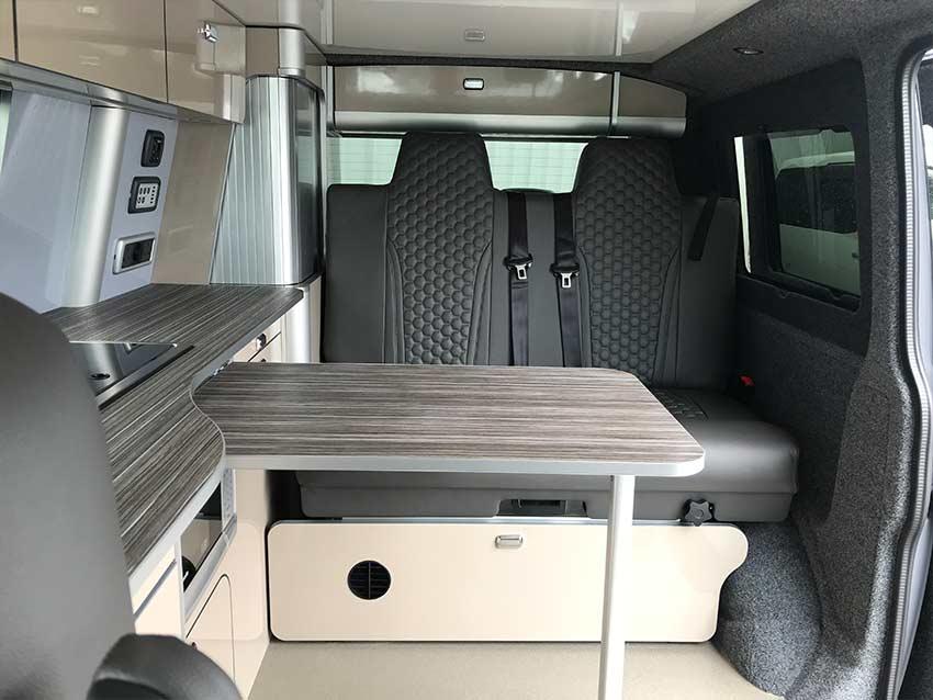 VW Transporter campervan for hire in scotland