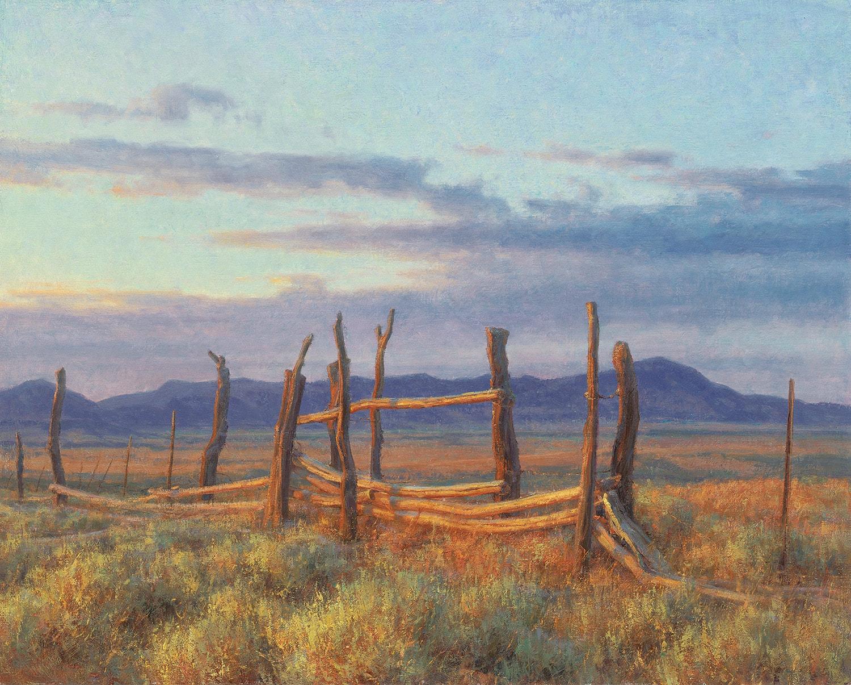Clyde Aspevig painting