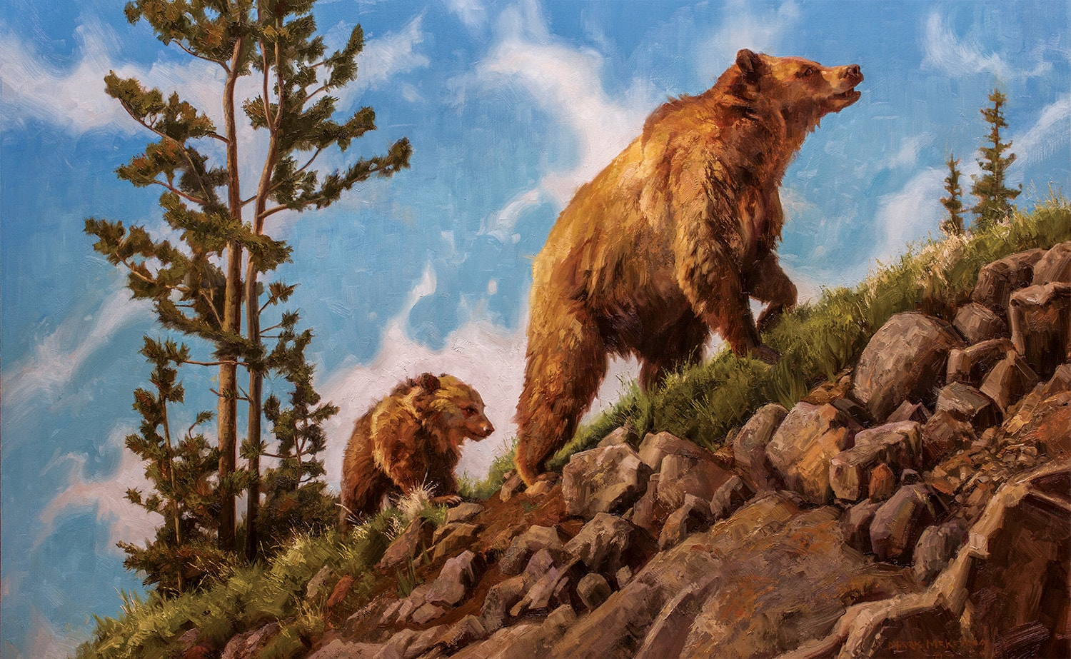 Mark McKenna wildlife painting