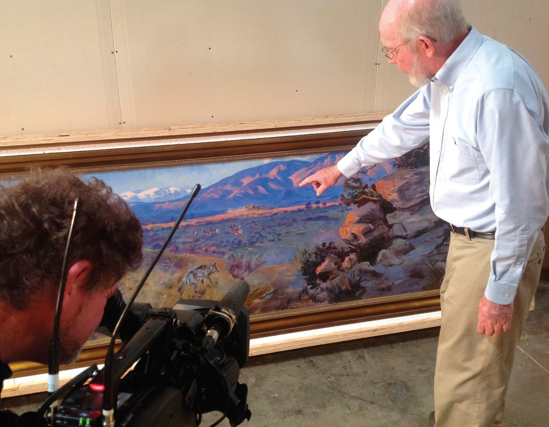 Curator Rick Stewart