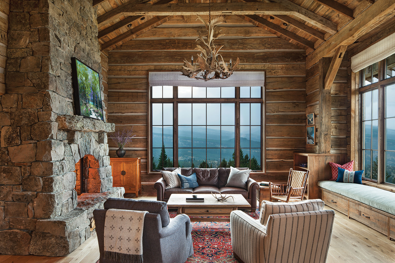 a montana retreat home
