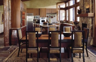 The open kitchen in this home inspired the Days to redo the kitchen in their Phoenix home.