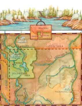 Map by Daphne Gillam