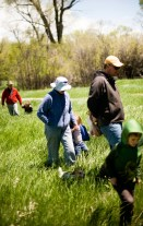 Family Forage. It's a fun activity to get the whole family out mushroom hunting on a spring day … and then cook up a big feast together.
