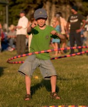Hoola Hoops are a mainstay at mountain music festivals. Photo by Cody Downard