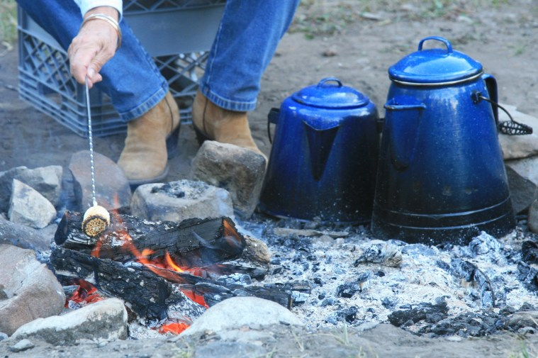 Pine Butte offers cookouts twice daily. Photo by Simon Williams