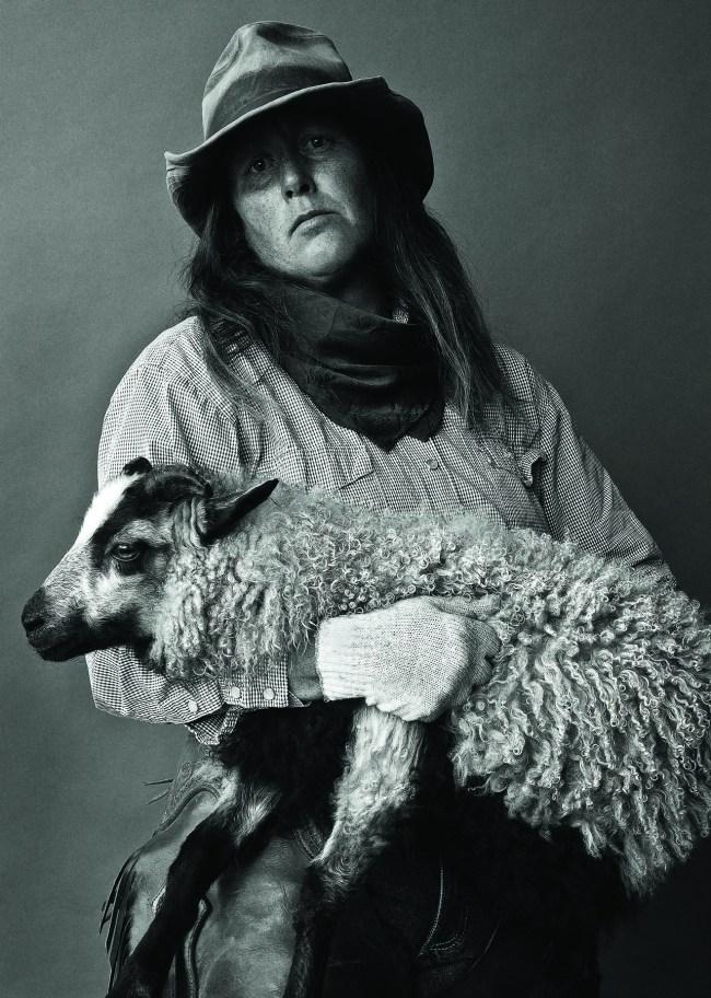 Barb Gunness   Wolf Ridge Lamb Co. Pray, 2011