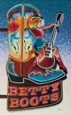 """""""Betty Boots""""   Michael Blessing   Oil   48"""" x 30"""""""