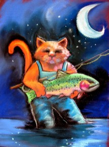 """""""Cats and Release""""   Soft Pastel   9 x 12 inches"""