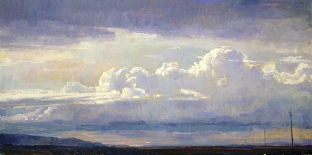 """Eternity"" | Fran Switzer | Oil on Canvas | 24"" x 48"""