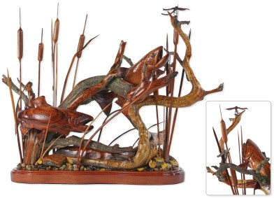 """Feeding in the Reeds"" 