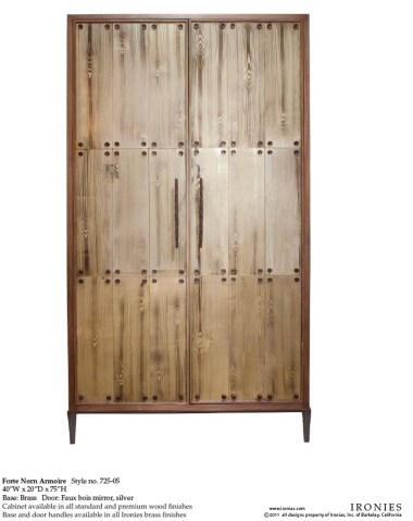 The Forte Norn Armoire from Haven Interior Design