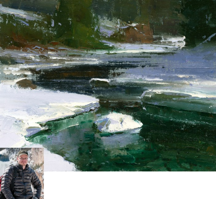"""""""Gardner River Ice 