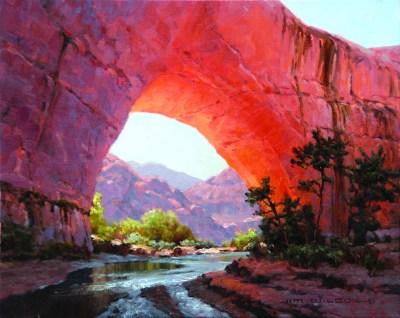 """Jacob Hamblin Arch"" | Oil on Linen | 16"" x 20"""