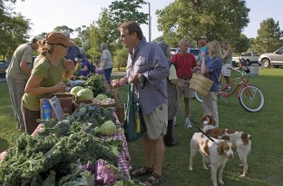 Livingston, Montana's Wednesday Farmer's Market connects growers to community members and restauranteurs.
