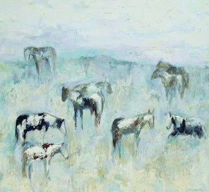 """Madison Horses #3""   Oil   72"" x 78"""