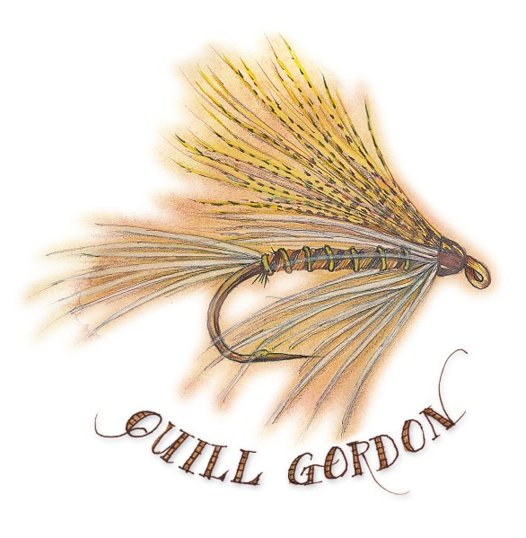 The Quill Gordon is an example of Yankee ingenuity which led to the development of countless new American fly patterns ranging from streamers and wet flies for North Woods brook trout to Theodore Gordon's revolutionary mayfly imitations.