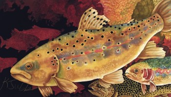 """Red Shadow Trout"" 