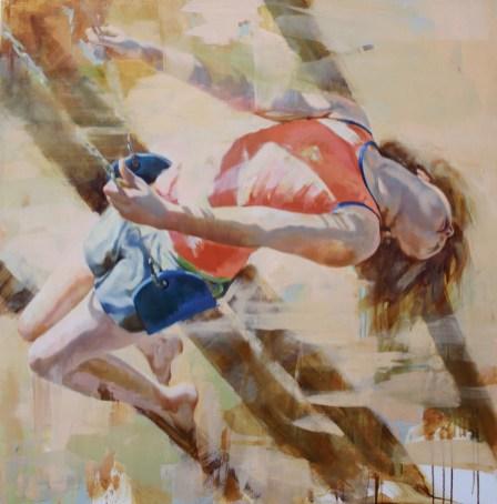 """Long Summer Shadow"" | Oil on Canvas | 48"" x 48"""