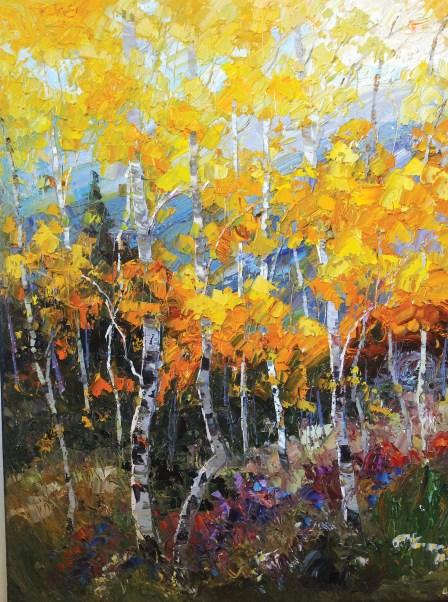 """Sunday's Miracle""   Oil on Canvas   40"" x 30"""