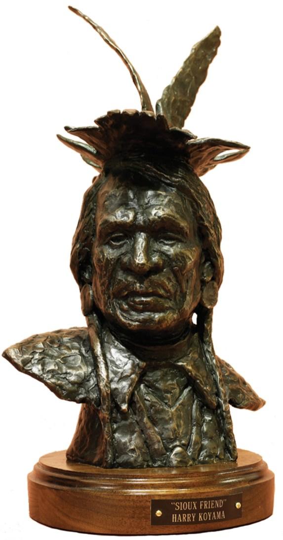 "Sioux Friend | Bronze | 14"" tall"