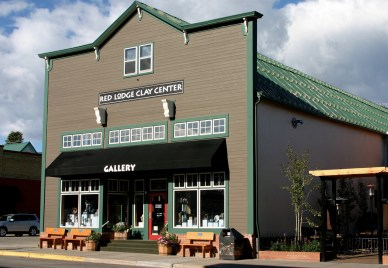 The Red Lodge Clay Center's downtown gallery showcases some of the country's most celebrated ceramic artists. In the building's classroom space, staff, residents, and visiting artists offer lectures, demonstrations and community classes. Photo courtesy Red Lodge Clay Center