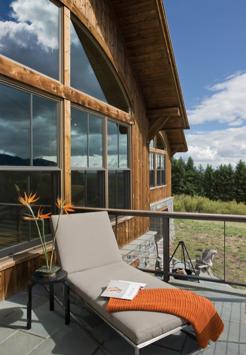 On warm, sunny days, Tammy Gorum finds it difficult to leave the deck.
