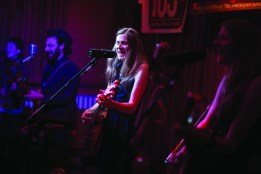 The Shook Twins perform for a packed house last May at Live From the Divide. The show was recorded and will be archived for future release on the radio and the Internet.