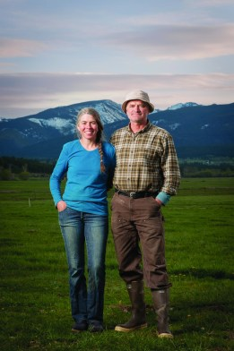 Jen and Ernie Harvey raise organic, biodynamic milk, cheese, beef, pork and sausage at Lifeline Dairy, Victor, Mont. They are members of the Western Montana Growers Cooperative.