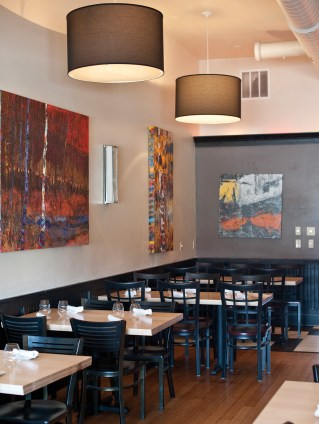 The atmosphere at Lilac — simple, modern, comforting — reflects the food offered from chef Engebretson's kitchen.