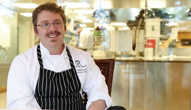 """Executive chef Jacob """"Jake""""Leatherman has been at Triple Creek Ranch for more than a decade. Photography courtesy Triple Creek Ranch"""