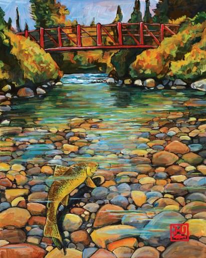Painting by Josh Udsen (Detail)