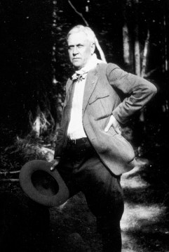 Stephen Mather, first director of the National Park Service, occasionally used his personal funds to enhance Park Service holdings. Photo courtesy of Glacier National Park Archives