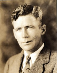 Unsung hero, Schubert Dyche (February 8, 1893-October 19, 1982), Montana State College head basketball coach, 1928-1935, and head football coach, 1928-35 and 1938-41. Photo courtesy of Montana State University Library, Max Worthington Papers