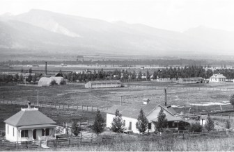 """Daly arrived in the Bitteroot Valley in 1864 in search of timber. He was equally impressed by the wild grasses """"that grew taller than a man's head"""" and """"the lightness of atmosphere."""" In 1889 Daly told a turf reporter, """"[I]n the Bitteroot valley, the ideal conditions for successful horse breeding are found."""""""
