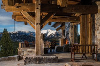Plenty of outdoor spaces, such as patios and balconies, ensure that the view can be enjoyed year round in the fresh air.