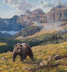 """""""Life at the Top""""   Sarah Woods   Oil   31.5"""" x 34"""""""
