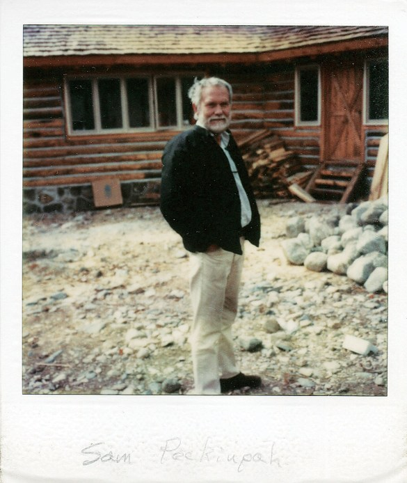 Peckinpah's cabin on Six Mile Creek in Montana's Paradise Valley recalled aspects of his childhood. Photo by Don Ellis