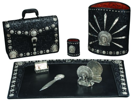 Chief Executive Office Set by Seidel Saddlery