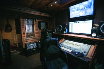 Executive Producer Doc Wiley records, edits and mixes each episode from this state-of-the-art room at Peach Street Studios.