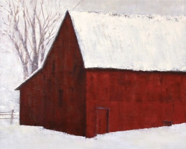 """Red Barn, Spring Gultch"" 
