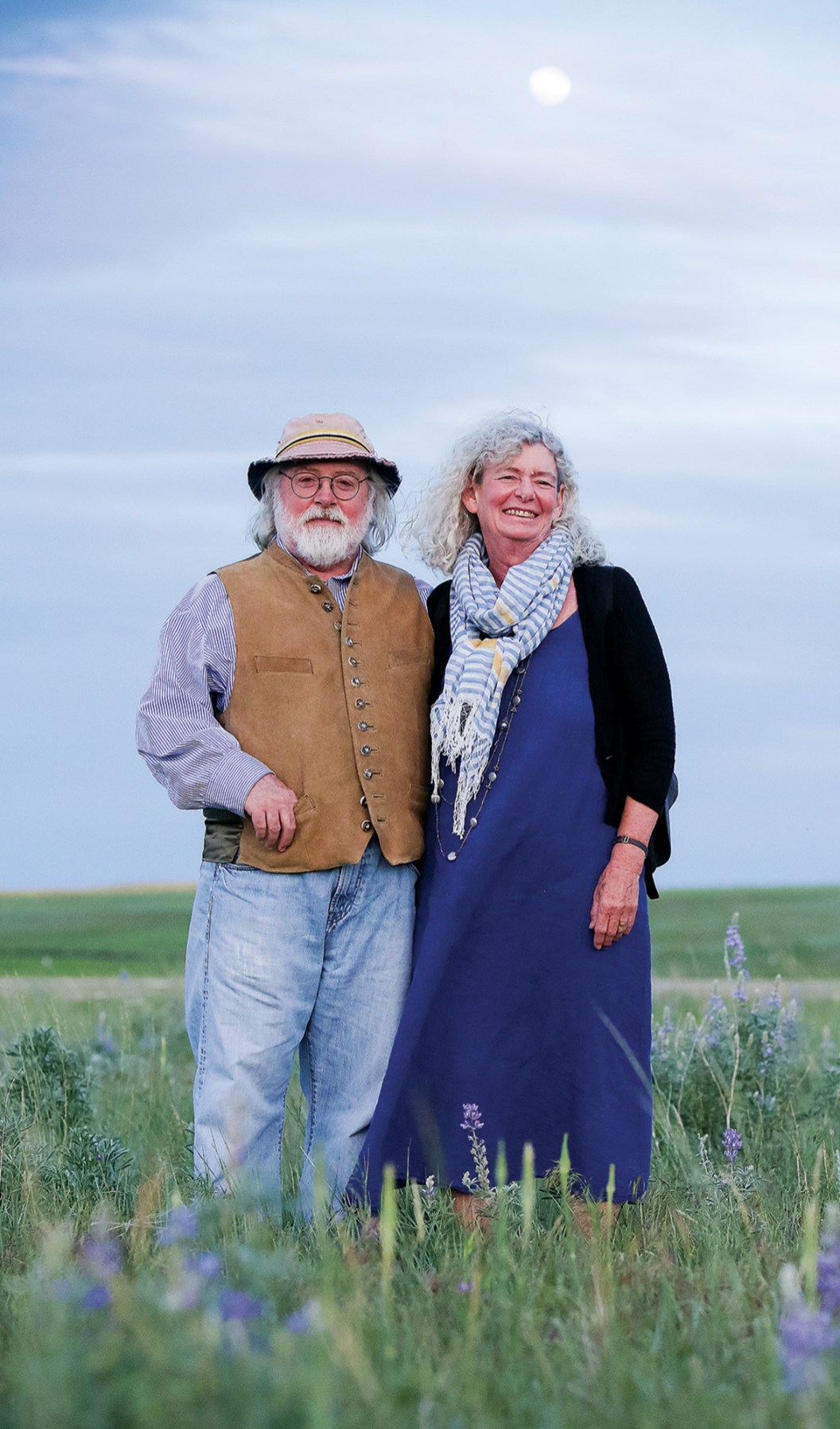 Philanthropists and Tippet Rise founders Peter and Cathy Halstead.